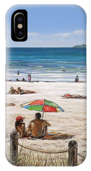 Mt Maunganui Beach 090209 IPhone Case