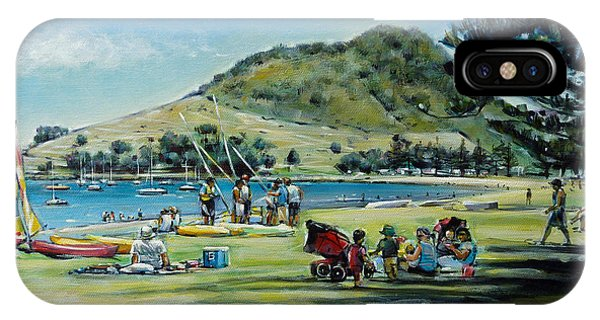 Mt Maunganui Pilot Bay 201210 IPhone Case