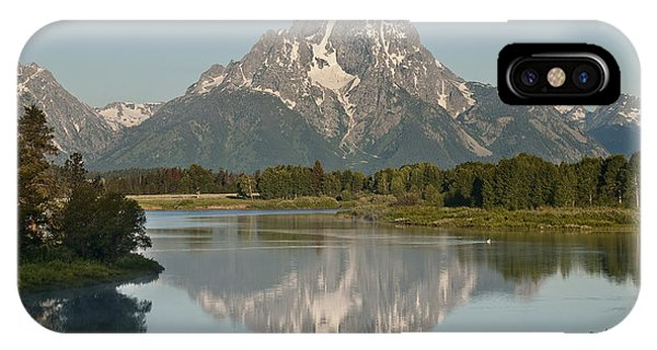 Mt Moran IPhone Case