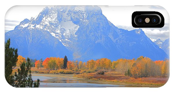 Mt. Moran Majesty IPhone Case