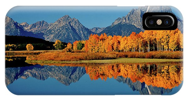 Mt. Moran Reflection IPhone Case
