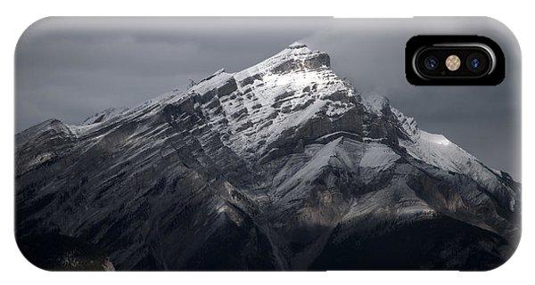 Mt. Norquay IPhone Case