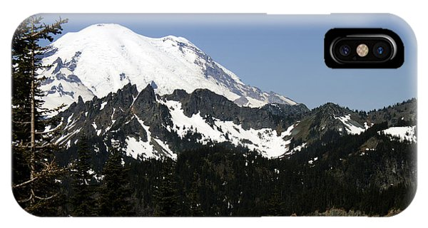Mt Rainer From Wa-410 IPhone Case
