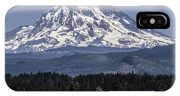 Mt Rainer In July IPhone Case