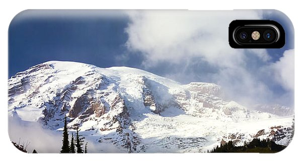 Mt Rainier II IPhone Case