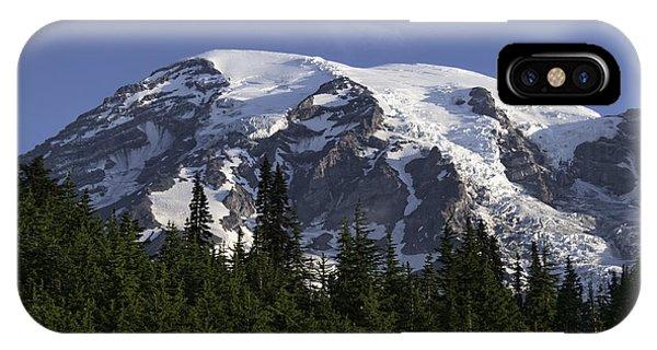 Mt Rainier Landscape IPhone Case