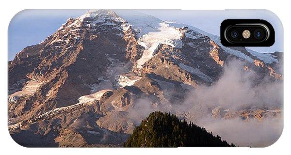 Mt Rainier Sunset IPhone Case