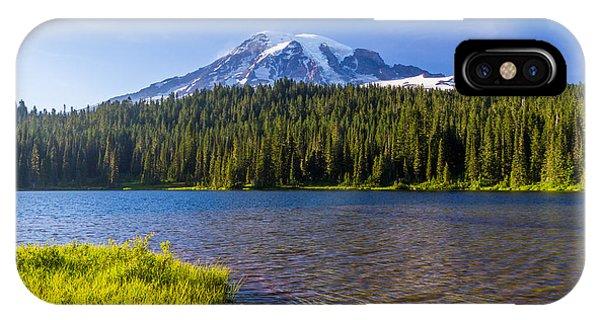 Mt Rainier Viewpoint IPhone Case