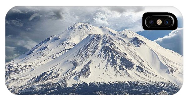 Mt Shasta IPhone Case