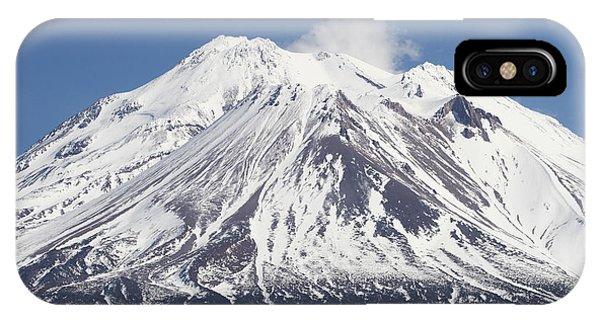 Mt Shasta California IPhone Case