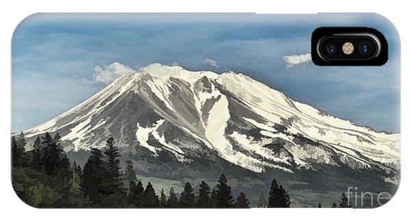 Mt. Shasta IPhone Case