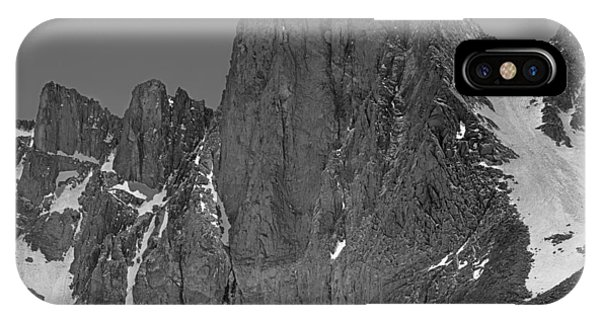 406427-mt. Sill, Bw IPhone Case