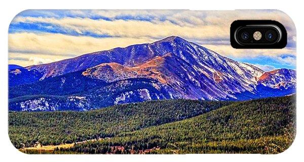 Mt. Silverheels II IPhone Case