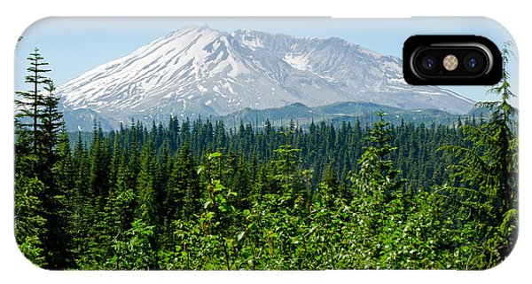 Mt. St. Helens IPhone Case