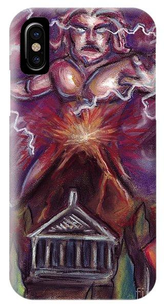 Mt. Vesuvius - Jupiter's Fury IPhone Case