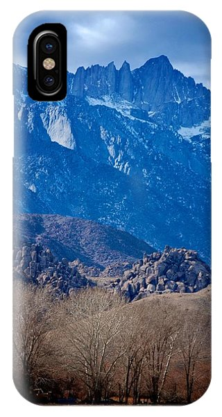 Mt. Whitney And Alabama Hills IPhone Case