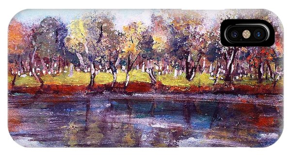 Mt Feake Along The Charles River IPhone Case