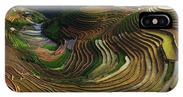 Agriculture iPhone Case - Mu Cang Chai - Vietnam by ??o T?n Ph?t