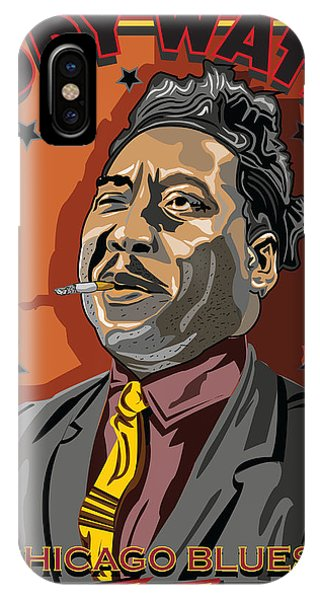 Muddy Waters Chicago Blues Phone Case by Larry Butterworth
