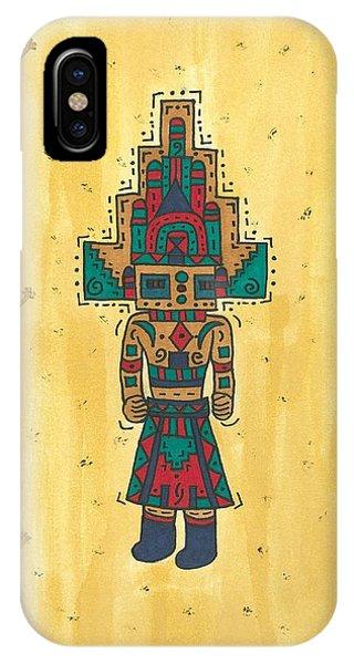 Mudhead Kachina Doll IPhone Case