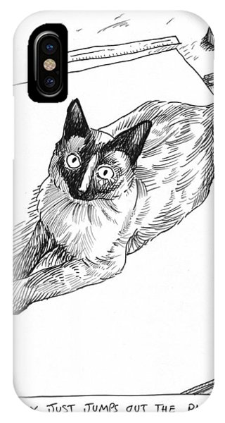 Mudhoney Jumps Out The Page IPhone Case