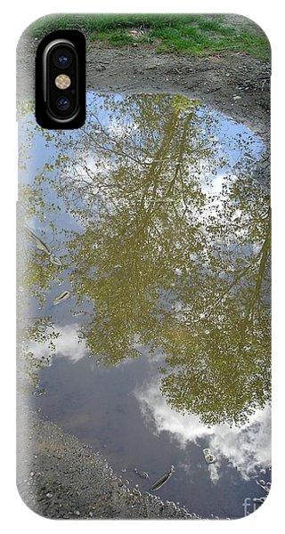Mudpuddle Reflection IPhone Case