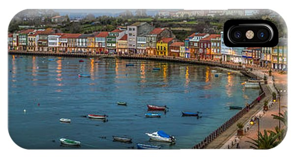 Mugardos Panorama Galicia Spain IPhone Case