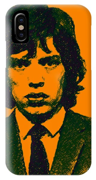 Mugshot Mick Jagger P0 IPhone Case