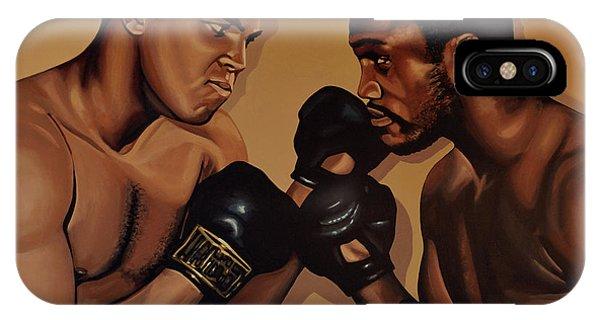Muhammad Ali And Joe Frazier IPhone Case