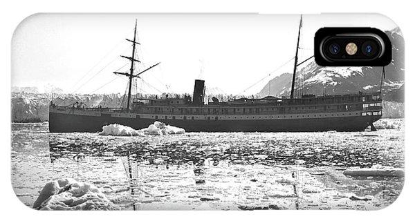 Glacier Bay iPhone Case - Muir Glacier by Edward Burton Mcdowell, Nsidc, Wdc/science Photo Library