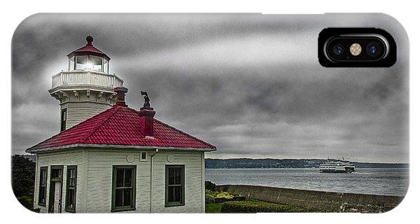 Mukilteo Lighthouse IPhone Case