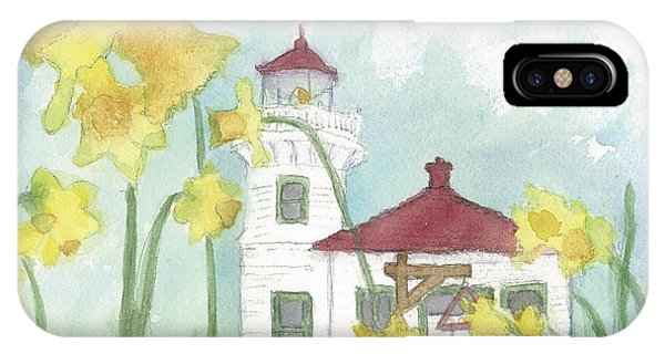 Mukilteo Lighthouse From A Different Perspective IPhone Case