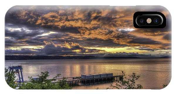 Mukilteo Sunset IPhone Case