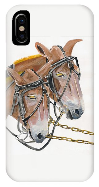Mules - Two - Beast Of Burden IPhone Case