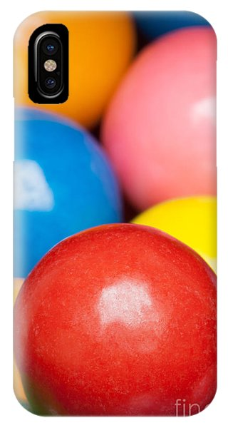 IPhone Case featuring the photograph Multi-colored Gumballs by Bryan Mullennix