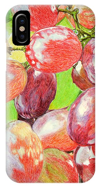 Multi Coloured Grapes IPhone Case