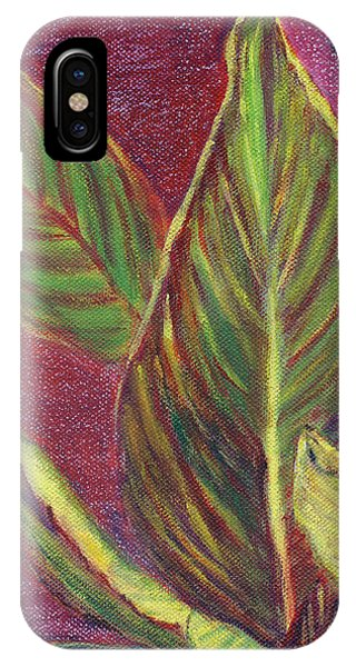 Multicolor Leaves IPhone Case