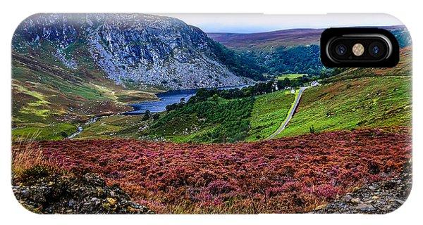 Multicolored Carpet Of Wicklow Hills. Ireland IPhone Case