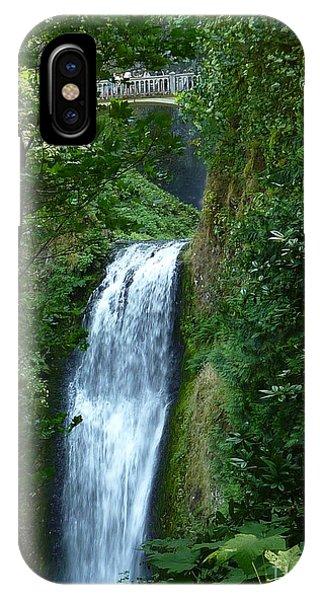 Multnomah Falls Bridge 2 IPhone Case