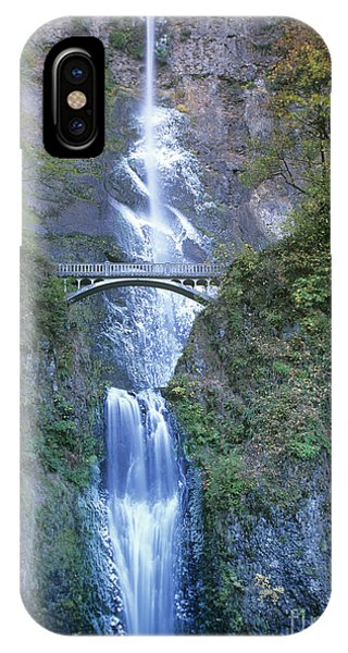 IPhone Case featuring the photograph Multnomah Falls Columbia River Gorge by Dave Welling