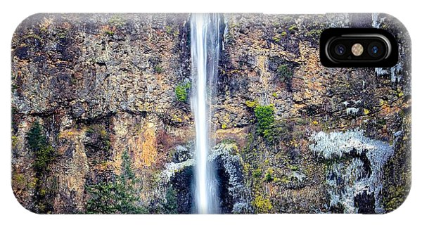 Multnomah Falls East Of Portland Or IPhone Case
