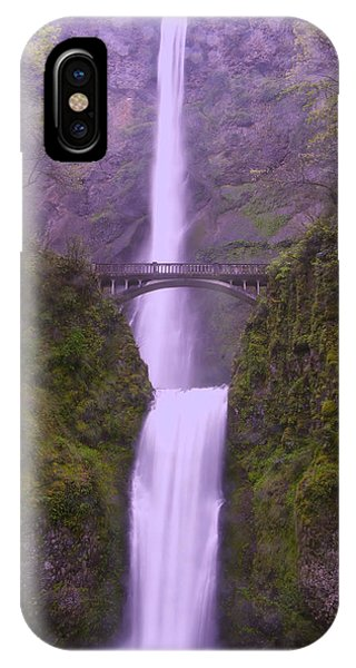 Multnomah In The Drizzling Rain IPhone Case