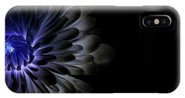 Dark Blue iPhone Case - Mum In The Abyss by Shane Peterson