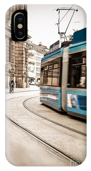 Munich City Traffic IPhone Case