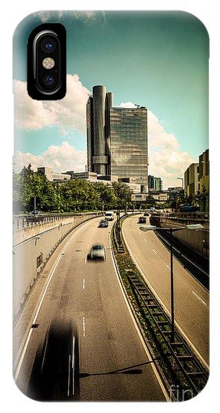 Munich Traffic IPhone Case