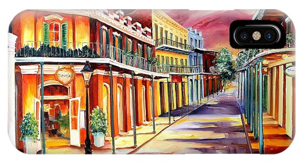 French Artist iPhone Case - Muriel's In The French Quarter by Diane Millsap