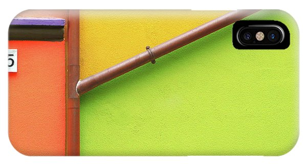 Facade iPhone Case - Muro Arlecchino by Paolo Luxardo