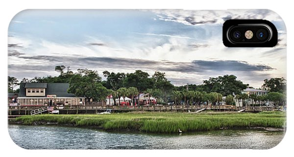 Murrells Inlet Marsh Walk IPhone Case