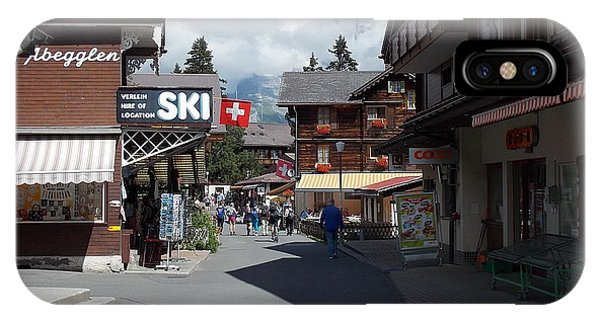Murren Switzerland IPhone Case