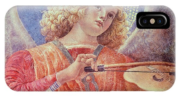 Music iPhone Case - Musical Angel With Violin by Melozzo da Forli